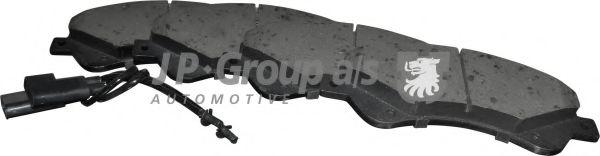 JP GROUP FORD Тормозные колодки передн.Transit 2.2TDCi 06- (передн.привод) JPGROUP 1563603310
