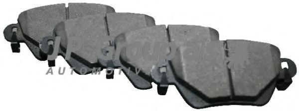 Гальмiвнi колодки к-т  арт. 1563700210