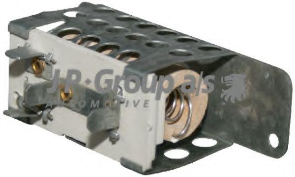 JP GROUP FORD Резистор вентилятора отопителя Transit -94 JPGROUP 1596850200