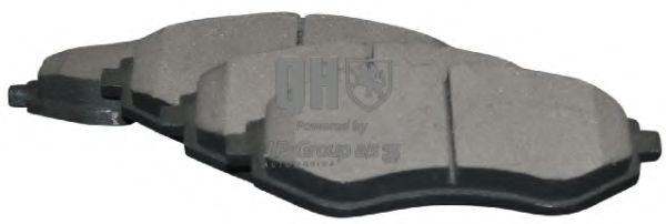 JP GROUP  Тормозные колодки дисковые пер. AVEO, Kalos 02- JPGROUP 3263600219