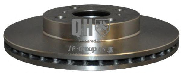 JP GROUP TOYOTA Диск тормозной передн. Yaris 99- JPGROUP 4863100809