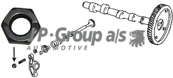 Направляющая клапана Контргайка JPGROUP арт. 8111351400
