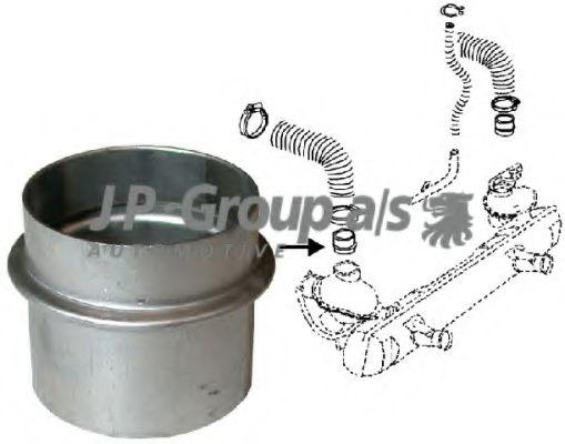 Радиатор печки Патрубок JPGROUP арт. 8121500100