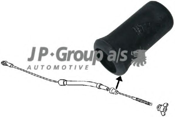 Трос сцепления Втулка троса щеплення JPGROUP арт. 8170250602