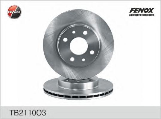 Диск тормозной FENOX TB2110O3