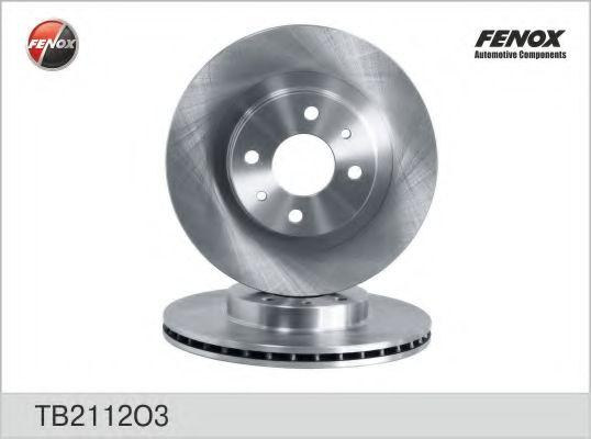 Диск тормозной FENOX TB2112O3