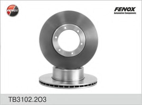 Диск тормозной FENOX TB31022O3