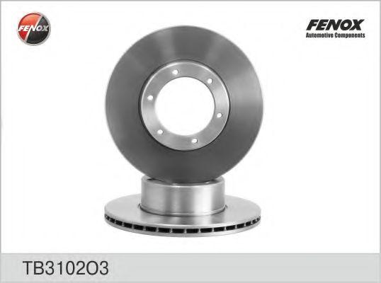 Диск тормозной FENOX TB3102O3