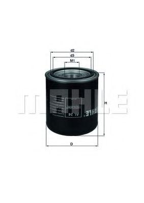 Фільтр осушувача повітря Mahle DAF, RVI