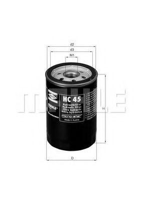 HC45     (MAHLE)   !!заміна для HC7  арт. HC45