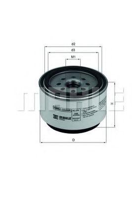 Топливный фильтр  арт. KC219