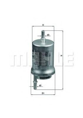 Фильтр топливный Mahle MAHLEORIGINAL KL1766D