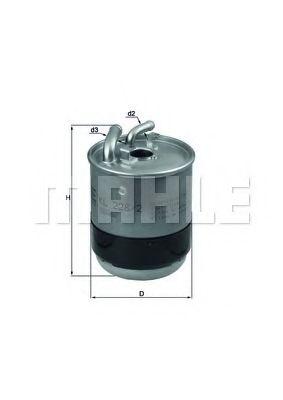 Фильтр топливный Mahle MB Sprinter  арт. KL2282D