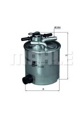 Фильтр топливный MAHLEORIGINAL KL40416