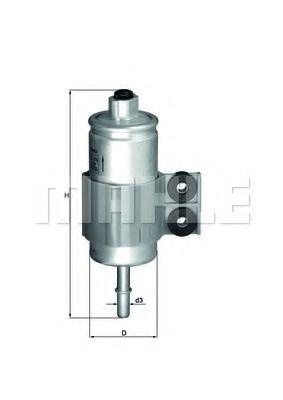 Фильтр топливный Mahle MAHLEORIGINAL KL510