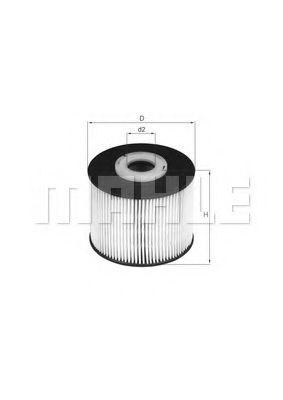 Фильтр топливный Mahle  арт. KX331D