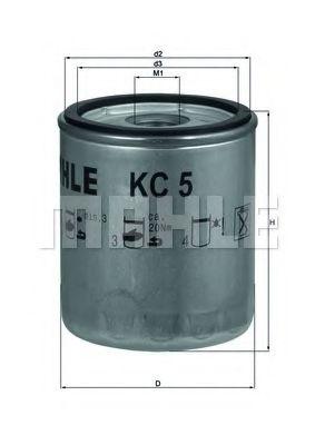 Фильтр топливный Mahle  арт. KC5