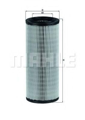 Воздушный фильтр  арт. LX801