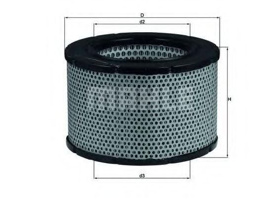Воздушный фильтр  арт. LX190