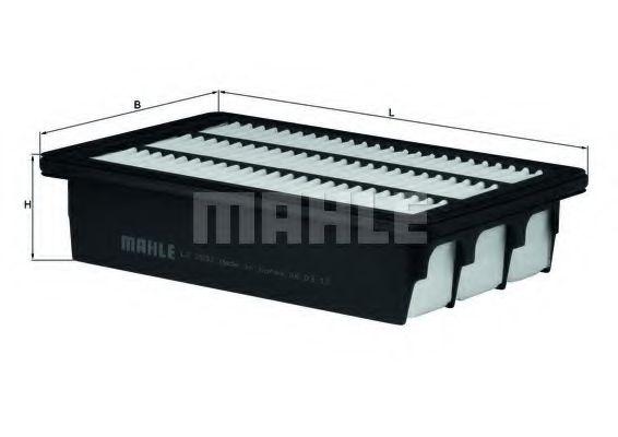 Фильтр воздушный Mahle  арт. LX2832