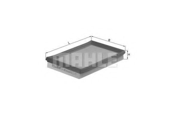 Воздушный фильтр  арт. LX687