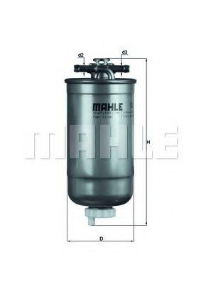 Фильтр топливный Mahle MAHLEORIGINAL KL147D