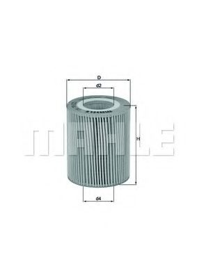 Фильтр масляный  арт. OX776D