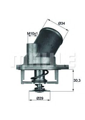 TI292  Mahle - Термостат MAHLEORIGINAL TI292