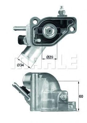TI592  Mahle - Термостат MAHLEORIGINAL TI592