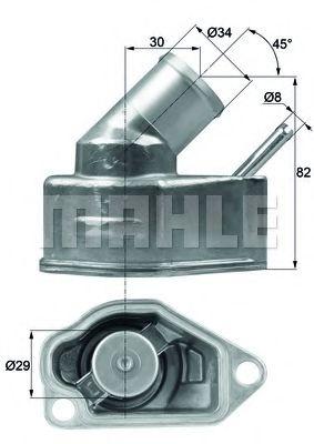 TI1092  Mahle - Термостат MAHLEORIGINAL TI1092