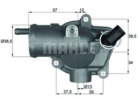 TI2792  Mahle - Термостат MAHLEORIGINAL TI2792