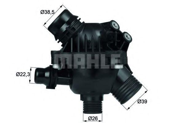TM1497  Mahle - Термостат MAHLEORIGINAL TM1497