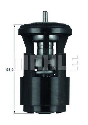 Термостат, охлаждающая жидкость MAHLEORIGINAL TX4187D
