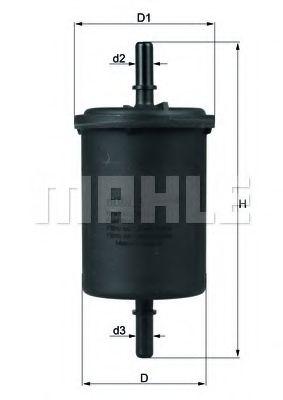 Фільтр паливний  арт. KL4161