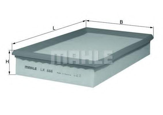 Воздушный фильтр  арт. LX888