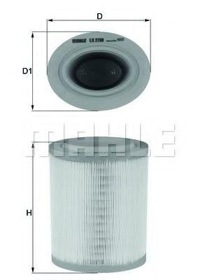 Фільтр повітряний  арт. LX2790