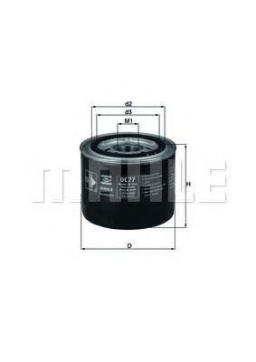 Масляный фильтр  арт. OC77