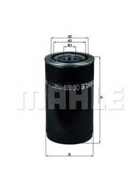 Масляный фильтр  арт. OC320