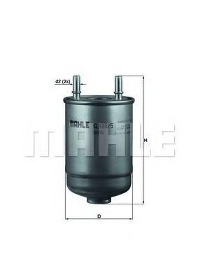 Фильтр топливный MAHLEORIGINAL KL4855D