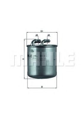 Фильтр топливный  арт. KL313