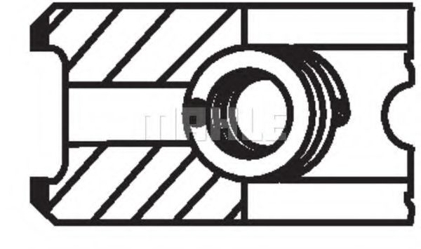 94.4 STD (2.5*2*2.5) Поршневі кільця Citroen Jumper/Fiat Ducato/Peugeot Boxer 2.8HDI/DTI/JTD 98-02  MAHLEORIGINAL 00990V0