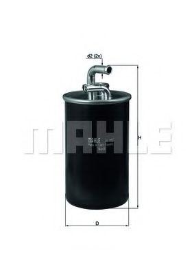 Топливный фильтр  арт. KL775