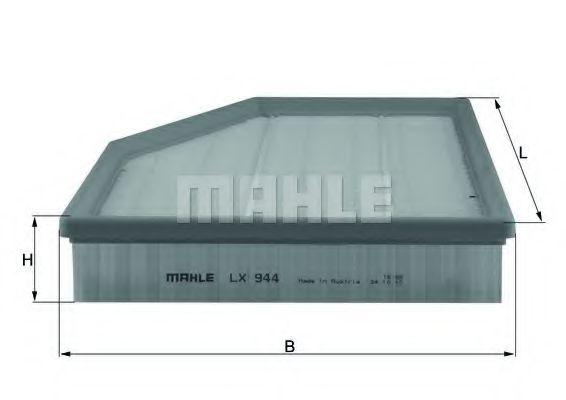 Фильтр воздушный Mahle  арт. LX944