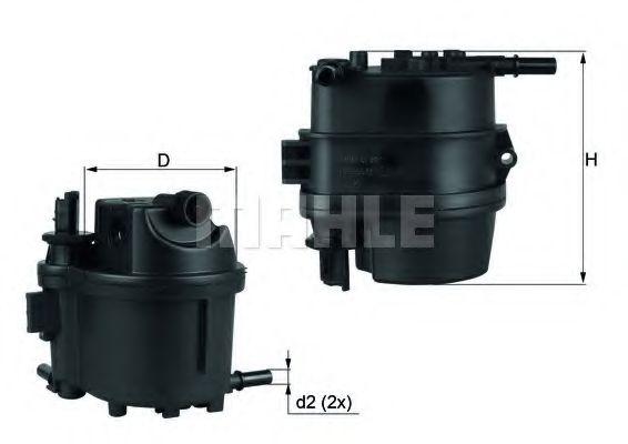 KL418 Фильтр топливный Mahle MAHLEORIGINAL KL779