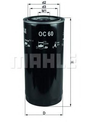 Масляный фильтр  арт. OC60