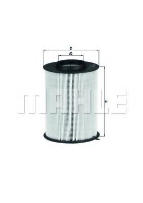 LX1780 Фильтр воздушный Mahle  арт. LX17803