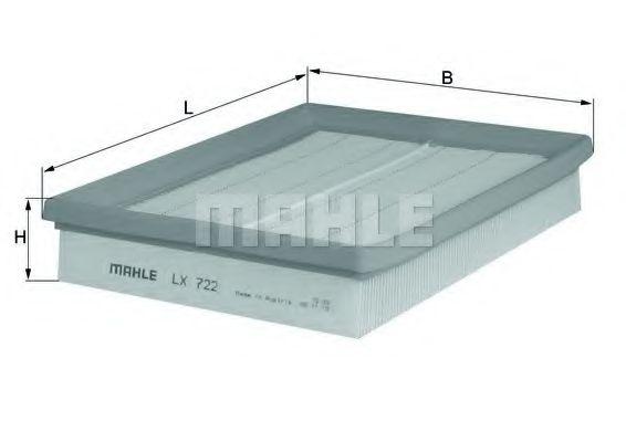 LX722     (MAHLE)  арт. LX722