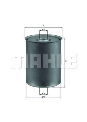 Фильтр топливный Mahle  арт. KX24D