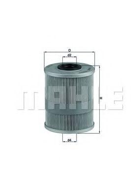 Фильтр топливный Mahle MAHLEORIGINAL KX78D