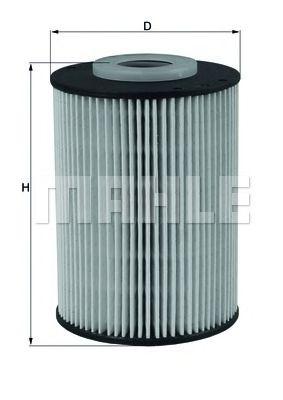 KX219D Фильтр топливный Mahle MAHLEORIGINAL KX393D